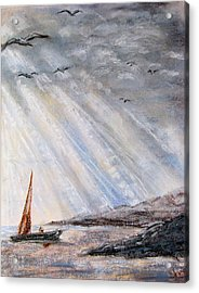 After The Storm Acrylic Print by Sherlyn Andersen