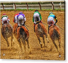 After The Turn Acrylic Print