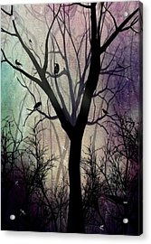 After Twilight Acrylic Print by Charlene Zatloukal