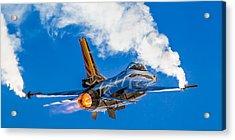Afterburn Acrylic Print by Ian Schofield