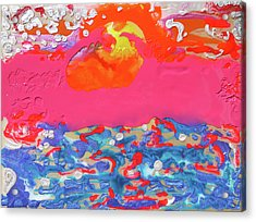 Afterglow #8 Acrylic Print by Joseph Demaree