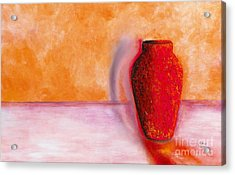 Acrylic Print featuring the painting Afterglow by Marlene Book