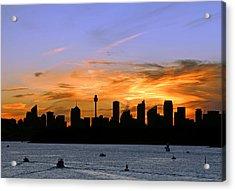 Afterglow Acrylic Print