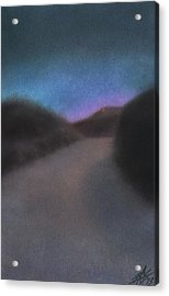 Afterglow Acrylic Print by Robin Street-Morris