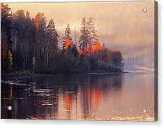 Acrylic Print featuring the photograph Afterglow by Vladimir Kholostykh