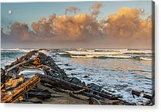 Aftermath And Prelude Acrylic Print by Loree Johnson