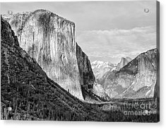 Acrylic Print featuring the photograph Afternoon At El Capitan by Sandra Bronstein