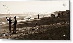 Afternoon At The Shore Acrylic Print by John Pagliuca
