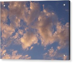 Afternoon Clouds Acrylic Print by Susan Pedrini