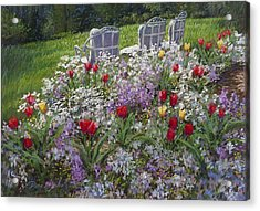 Afternoon Delight Acrylic Print by L Diane Johnson