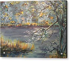 Acrylic Print featuring the painting Afternoon Getaway by Dan Whittemore