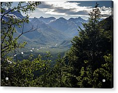 Afternoon, Going To The Sun Road Acrylic Print
