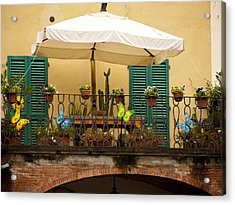 Afternoon In Greve In Chianti Acrylic Print