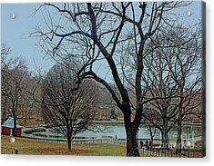 Afternoon In The Park Acrylic Print by Sandy Moulder