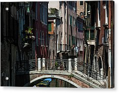 Acrylic Print featuring the photograph Afternoon In Venice by Alex Lapidus