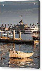 Afternoon Light Balboa Island Acrylic Print