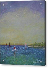 Afternoon Sailing Acrylic Print
