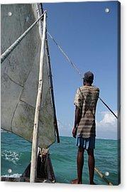 Afternoon Sailing In Africa Acrylic Print by Exploramum Exploramum