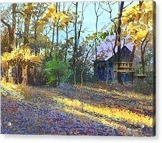 Afternoon Shadows Acrylic Print by Sergey Zhiboedov