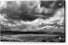 Afternoon Storm Couds Acrylic Print by Monte Stevens