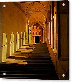 Acrylic Print featuring the photograph Afternoon Sun-certosa Del Galluzzo by Nicola Fiscarelli
