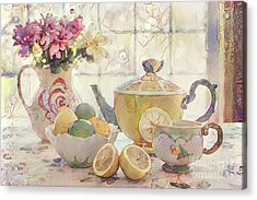 Afternoon Tea Acrylic Print