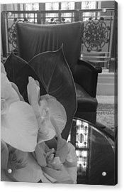 Afternoon Tea At The Waldorf Acrylic Print by Tara Miller