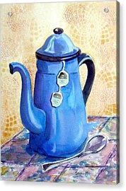 Afternoon Tea Acrylic Print by Marsha Elliott