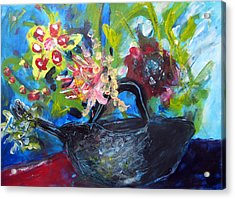 Afternoon Tea Two Acrylic Print by Rebecca Merola
