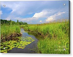 Afternoon Thunderstorm Acrylic Print