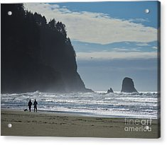 Cape Meares Acrylic Print by Michele Penner