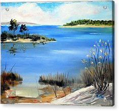 Afternoon Water Acrylic Print by Phil Burton