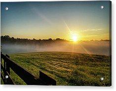 Afton Va Sunrise Acrylic Print