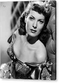 Against All Flags, Maureen Ohara, 1952 Acrylic Print by Everett