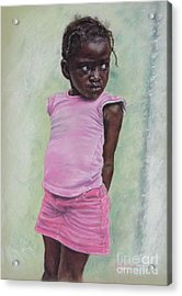 Against The Wall Acrylic Print