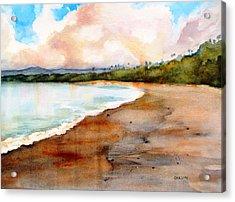 Aganoa Beach Savai'i Acrylic Print