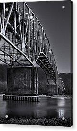 Agassiz-rosedale Bridge Acrylic Print