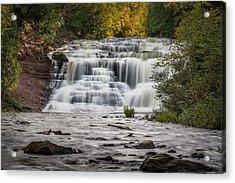 Agate Falls Acrylic Print