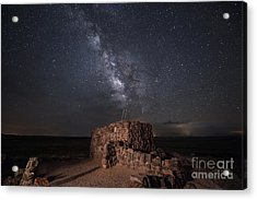 Agate House At Night2 Acrylic Print