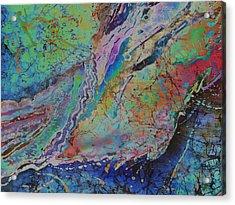Agate Inspiration - 21b Acrylic Print by Sue Duda