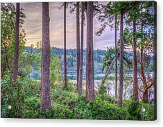 Agate Passage View Acrylic Print by Spencer McDonald