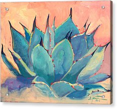 Agave 2 Acrylic Print by Athena  Mantle