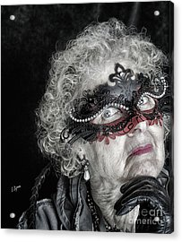 Age Is Not A Victim  Acrylic Print by Steven Digman