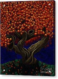Aged Autumn Acrylic Print