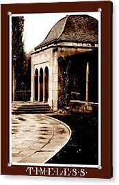 Aged By Time Acrylic Print