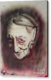 Aged Smile Acrylic Print by Ron Bissett