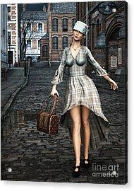 Ageless Fashion Acrylic Print by Jutta Maria Pusl