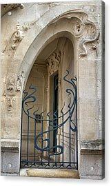 Agen Art Nouveau Gate Acrylic Print