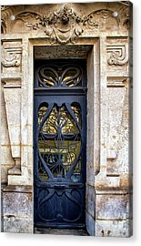 Agen France Blue Door Acrylic Print
