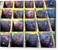 Acrylic Print featuring the photograph Aging Steel by Olivier Calas